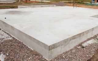 Как сделать плитный (монолитный) фундамент для гаража