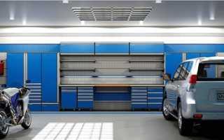 Делаем полки для хранения инструмента, колёс и других вещей в гараже