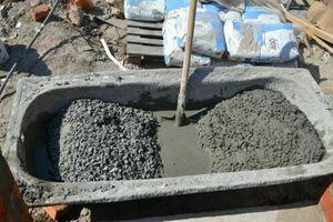 Расчет cостава бетона