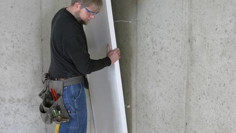 Утепляем стены гаража своими руками